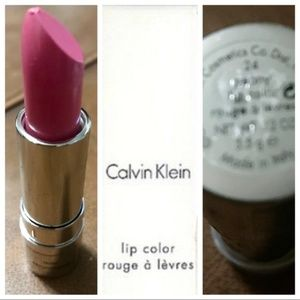Calvin Klein Lipstick in Peony made in Italy